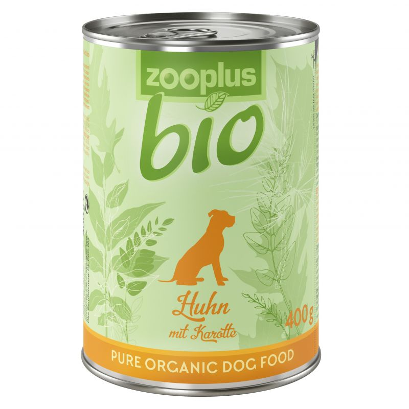 zooplus Bio – Organic Chicken with Carrot