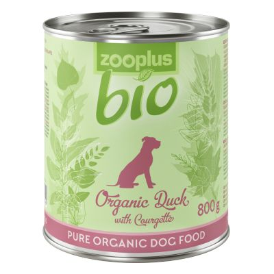 zooplus Bio - Organic Duck with Sweet Potato & Courgette (grain-free)