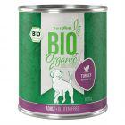 zooplus Bio pavo con calabacín comida ecológica para perros