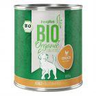 zooplus Bio pollo con zanahoria comida ecológica para perros