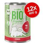 zooplus Bio Senior gazdaságos csomag 12 x 400 g