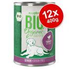 zooplus Bio Senior 12 x 400 g Alimento umido per cani