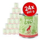 zooplus Bio -säästöpakkaus 24 x 800 g