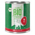 zooplus Bio vacuno con manzana comida ecológica para perros