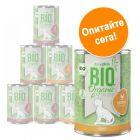 Смесена пробна опаковка zooplus Bio храна за котки 6 x 400 г