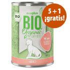 zooplus Bio 6 x 400 g comida ecológica para gatos en oferta: 5 + 1 ¡gratis!