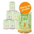 zooplus Bio 6 x 400 g comida ecológica para gatos - Pack de prueba