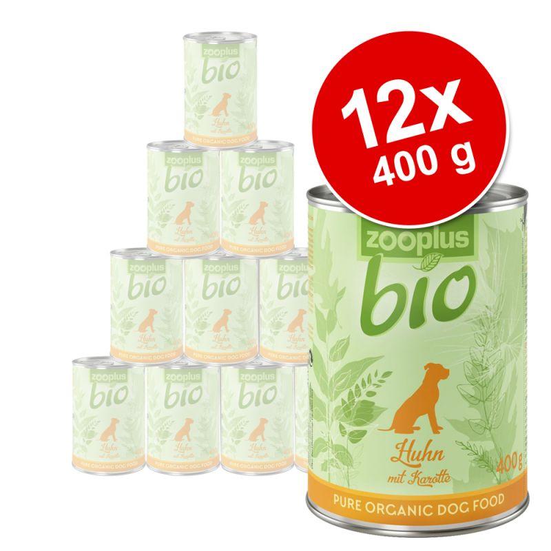 zooplus Bio 12 x 400 g - Pack Ahorro