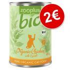 zooplus Bio 1 x 400 g para gatos ¡por solo 2€!