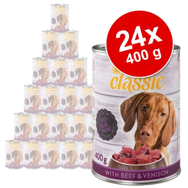 zooplus Classic Saver Pack 24 x 400g