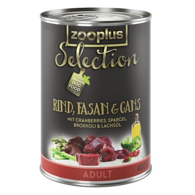 zooplus Selection Adult Beef, Pheasant & Goose