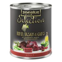 zooplus Selection Adult Manzo, Fagiano & Oca