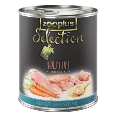zooplus Selection Adult Sensitive com frango e arroz