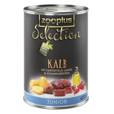 zooplus Selection Junior com vaca