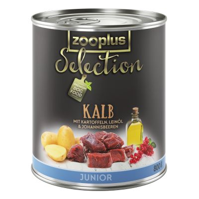 zooplus Selection Junior con ternera