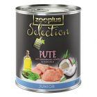 zooplus Selection Junior dinde pour chien