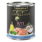 zooplus Selection Junior Kalkon
