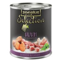 Zooplus Selection Senior & Light Kip Hondenvoer