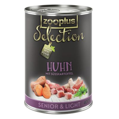 zooplus Selection Senior & Light Pollo