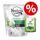 Zum Sonderpreis! 1,4 kg NUTRO Trockenfutter + Greenies Kausnack
