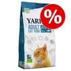 Zum Sonderpreis! Yarrah Bio Katzenfutter 2,4 kg
