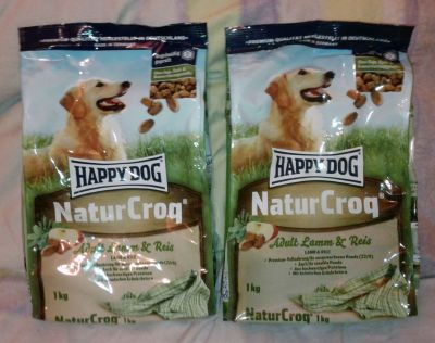 Happy Dog NaturCroq Lamp and Rice