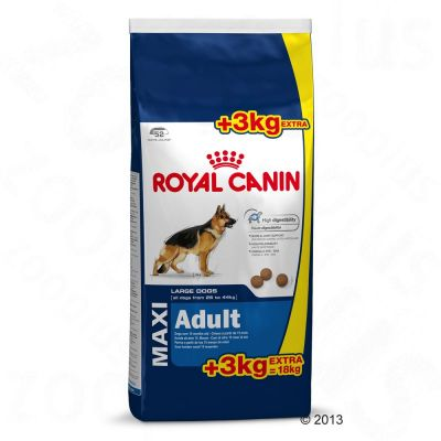 royal canin adult 25kg 44kkg maxi