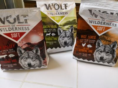 Wolf of wilderness 3 sachets
